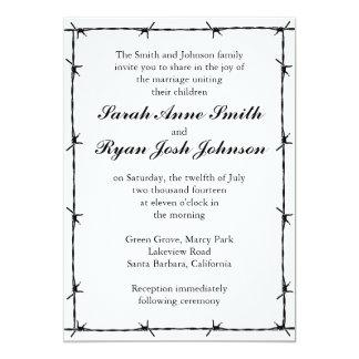 Western-Hochzeit 12,7 X 17,8 Cm Einladungskarte