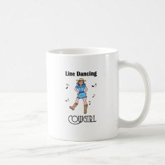 """Western """"Linie Tanzen-Cowgirl """" Kaffeetasse"""
