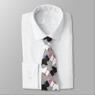 Westie Hundekunst-Krawatte Bedruckte Krawatte