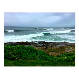 Westküsten-Ruhe vor der Sturm-Postkarte Postkarte