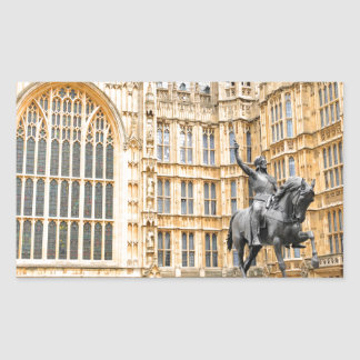 Westminster Abbey in London Rechteckiger Aufkleber