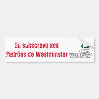 Westminster Autoaufkleber