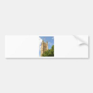 Westminster in London, Großbritannien Autoaufkleber