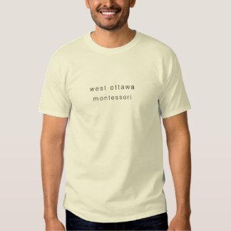 Westottawa-gotische Schriften T-shirts