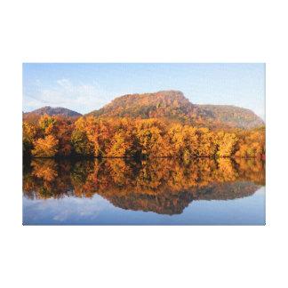 """Westsee-Fall-Reflexion 18x12 .75"""" Leinwanddruck"""