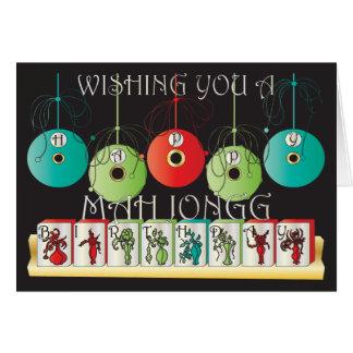 Wetter-Geburtstags-Karte Milliamperestunde Jongg Karte