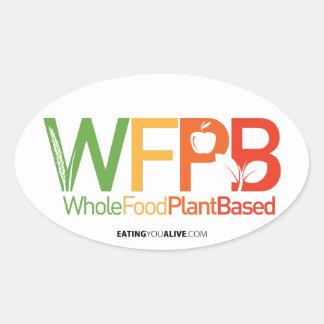WFPB Logo - heller Aufkleber