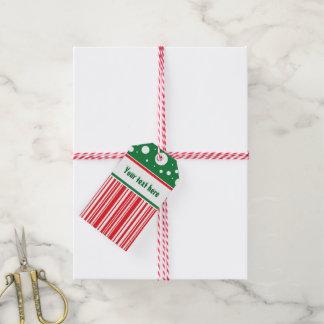 Whacky Weihnachten Geschenkanhänger