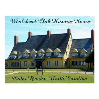 Whalehead Verein-Postkarte Postkarte
