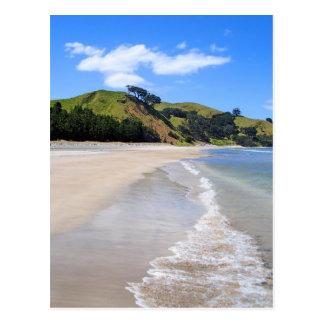 Whangapoua Strand, Neuseeland Postkarte