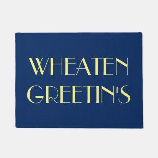 Wheaten Greetins Türmatte