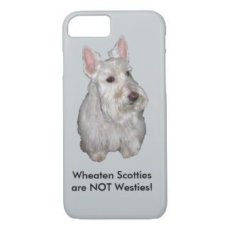 Wheaten Scotties sind NICHT Westies! Grauer iPhone 8/7 Hülle