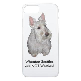 Wheaten Scotties sind NICHT Westies! iPhone 8/7 Hülle