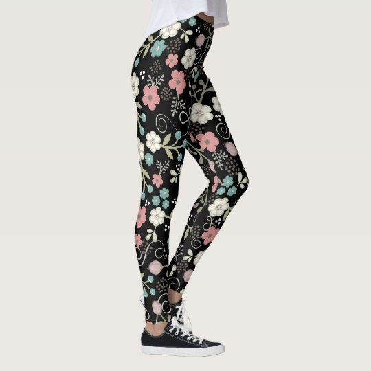 Whimsy Blumen-Muster Leggings