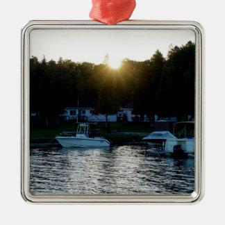 Whisky-Bucht, St- Josephinsel Silbernes Ornament