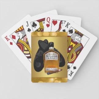 Whisky-und Zigarren-Poker-Kartenspiel-Spielkarten Spielkarten