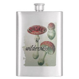 Whiskyu. WildnisToadstool Flachmann