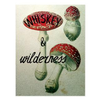 Whiskyu. WildnisToadstool Postkarte