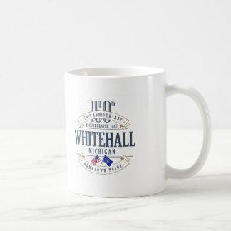 Whitehall, 150. Jahrestags-Tasse Michigans Kaffeetasse
