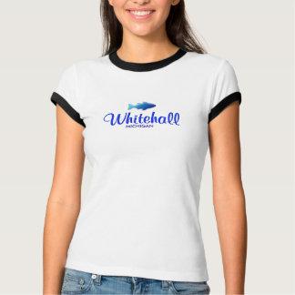 Whitehall, MI-Damen-Wecker-T - Shirt