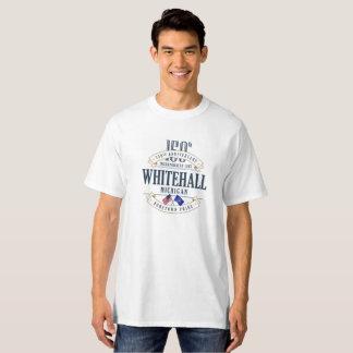 Whitehall, Michigan 150. Anniv. Weißer T - Shirt