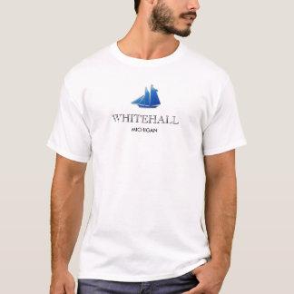 WHITEHALL, Michigan - grundlegender T - Shirt
