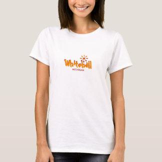 Whitehall, Michigan - mit Sun-Ikone T-Shirt