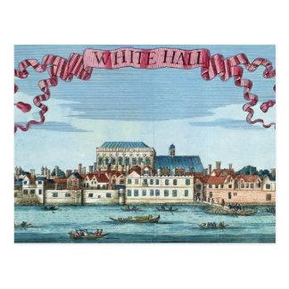 Whitehall von 'einem Buch der Aussichten Postkarte