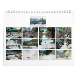 Whitewater-Kalender 2017 Kalender
