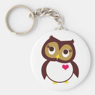 Whoo vous aime porte-clés