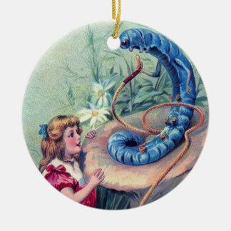 Whooo sind Sie? 1 Keramik Ornament