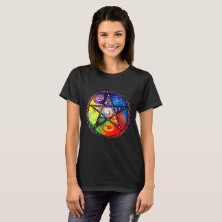 Wiccan fünf Elemente T-Shirt