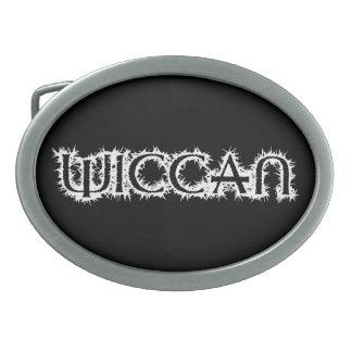 Wiccan Ovale Gürtelschnallen