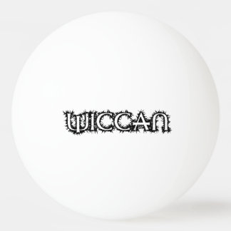 Wiccan Ping-Pong Ball