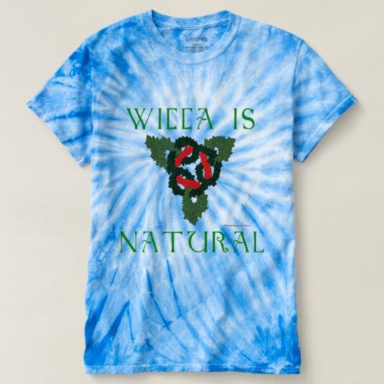 Wiccas die Krawatten-T - Shirt natürlicher Männer