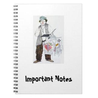 Wichtige Anmerkungen - Foto-Notizbuch Otto Spiral Notizbuch