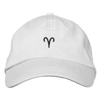 Widder gestickter Hut