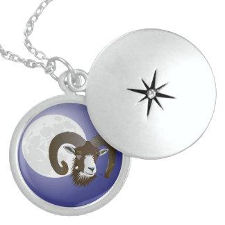 Widder - Sternkreiszeichen Halskette