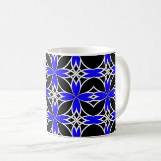 Widergespiegelter Celtic (Blau umgewandelt) Kaffeetasse