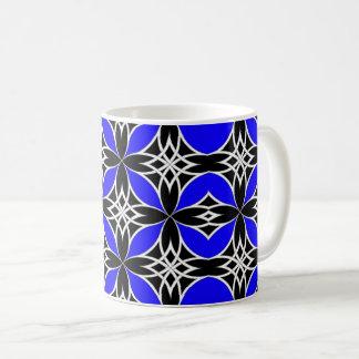 Widergespiegelter Celtic (Flutterby Blau) Kaffeetasse