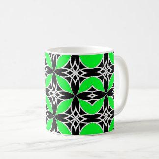 Widergespiegelter Celtic (Flutterby Grün) Kaffeetasse
