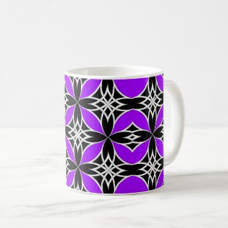 Widergespiegelter Celtic (Flutterby lila) Kaffeetasse