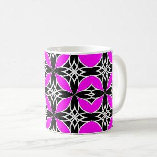 Widergespiegelter Celtic (Flutterby Rosa) Kaffeetasse
