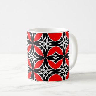 Widergespiegelter Celtic (Flutterby Rot) Kaffeetasse