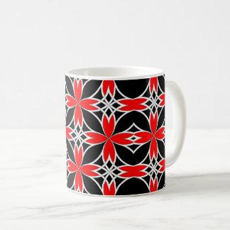 Widergespiegelter Celtic (Rot umgewandelt) Kaffeetasse