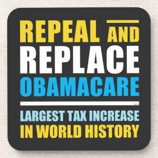 Widerrufen Sie und ersetzen Sie Obamacare Untersetzer