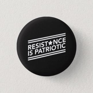 Widerstand ist patriotischer Knopf