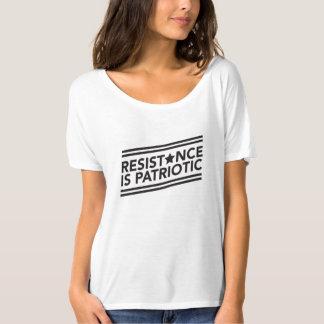Widerstand ist patriotisches Slouchy T-Stück