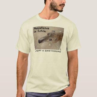 Widerstand ist vergeblich. (V. 2 für helles Kleid) T-Shirt