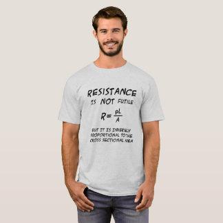 Widerstand-Spaß T-Shirt